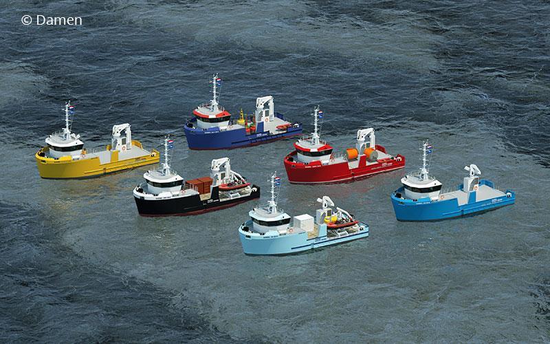 Platform-based workboat product family